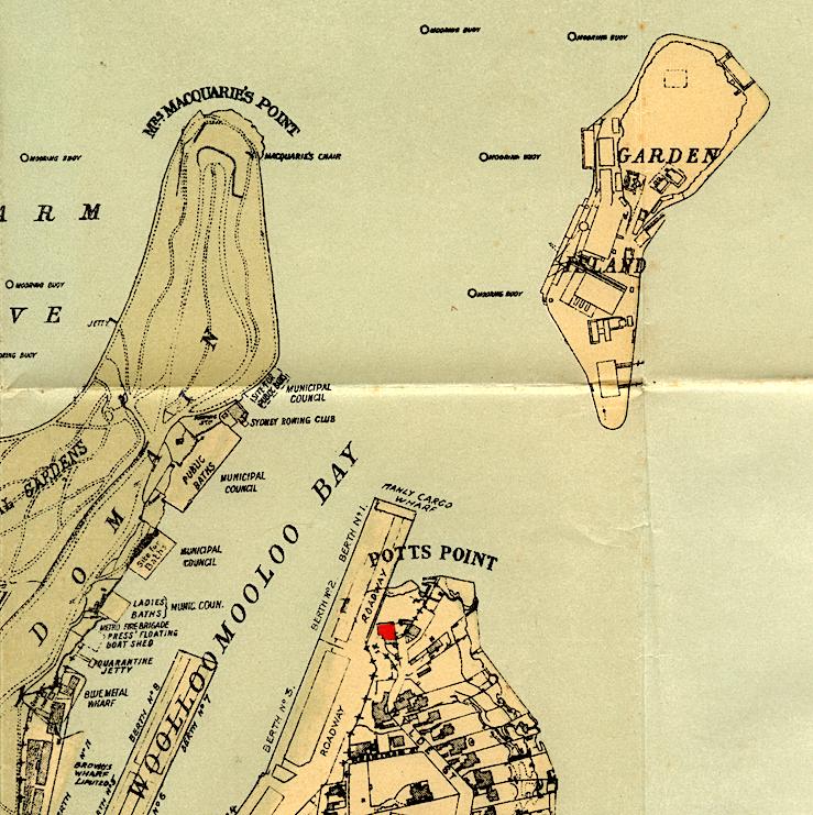 37 Bomera on Map c. 1936