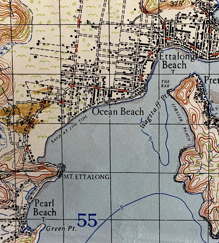 ocean beach 1941